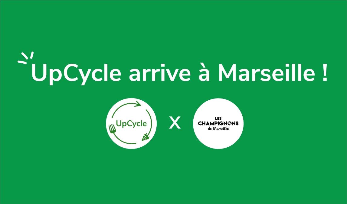 Déploiement d'upCycle à Marseille