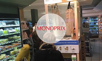 Champignonnière UpCycle chez Monoprix