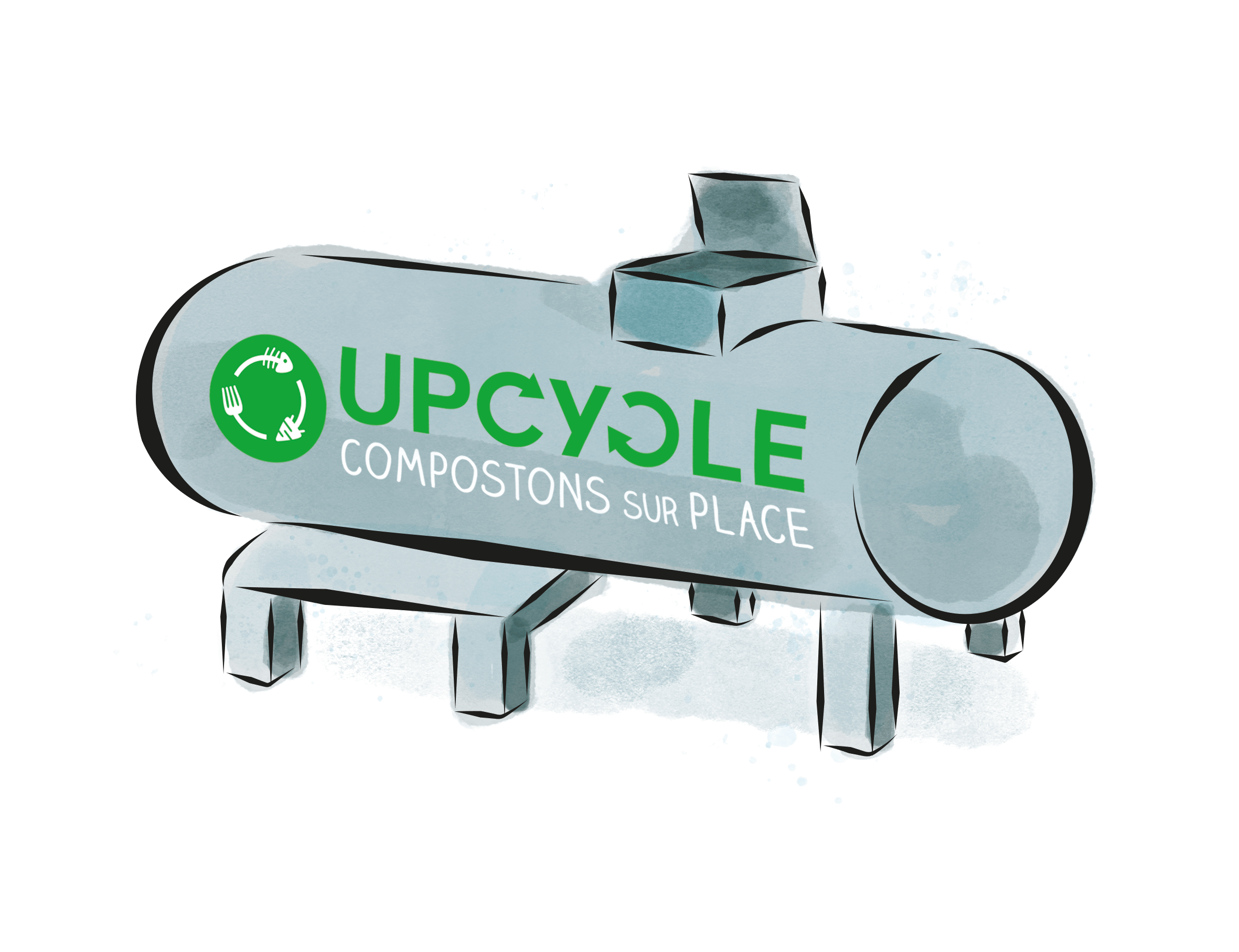COMPOSTEUR UpCycle