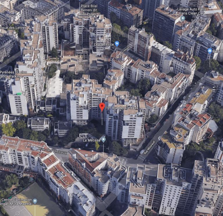 Quartier des Orteaux renovation