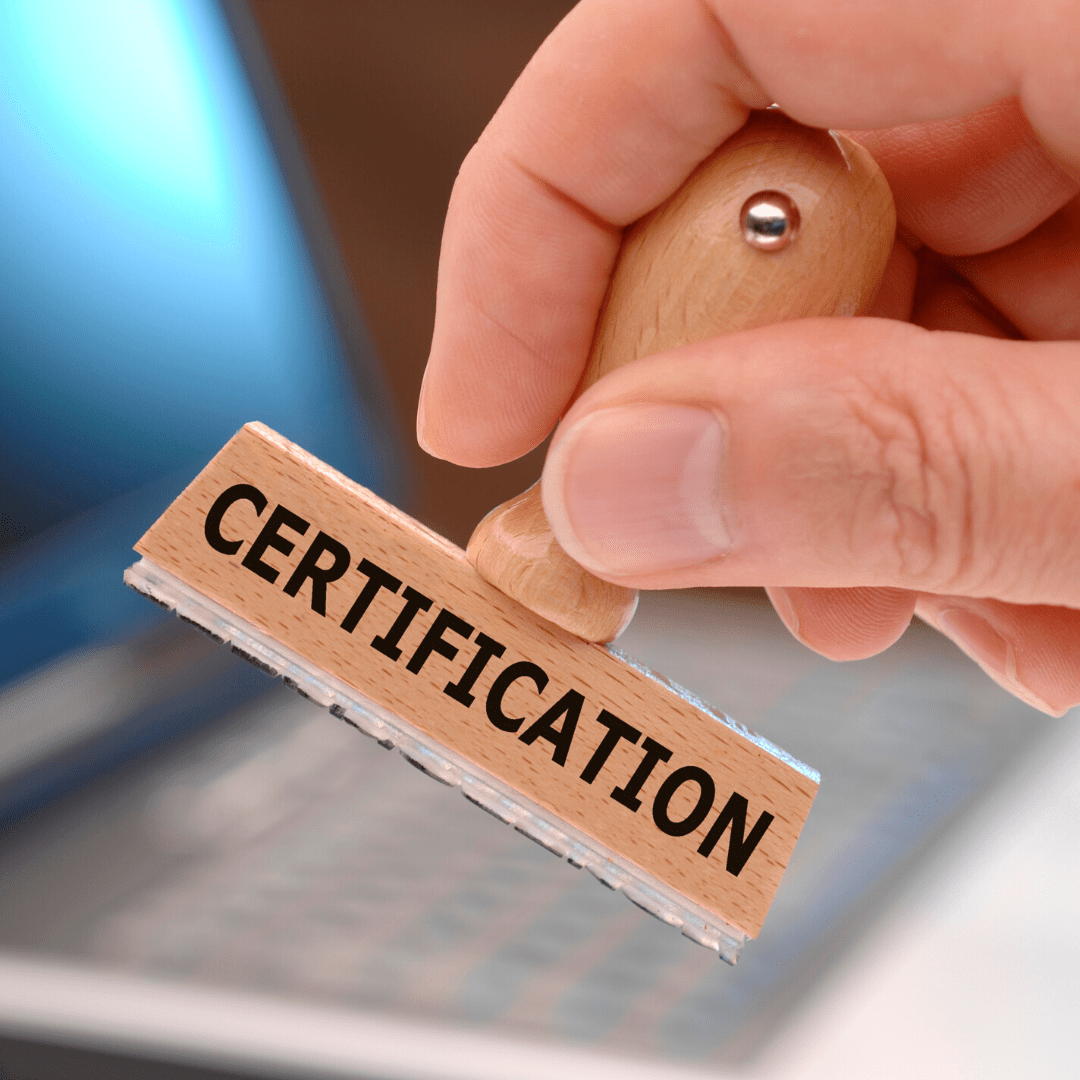 Certifications par UpCycle