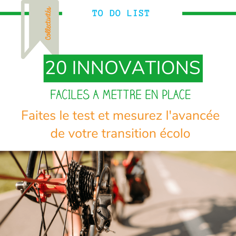 TO DO LIST-20 innovations pour la transition ecolo collectivites par upcycle