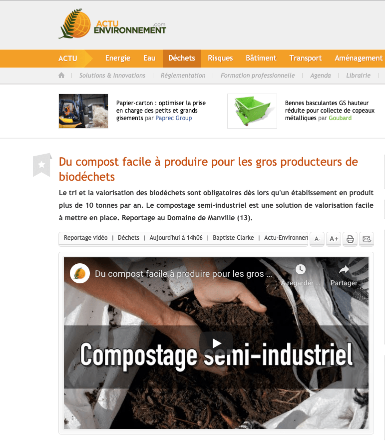 ACTU-ENVIRONNEMENT ARTICLE UPCYCLE