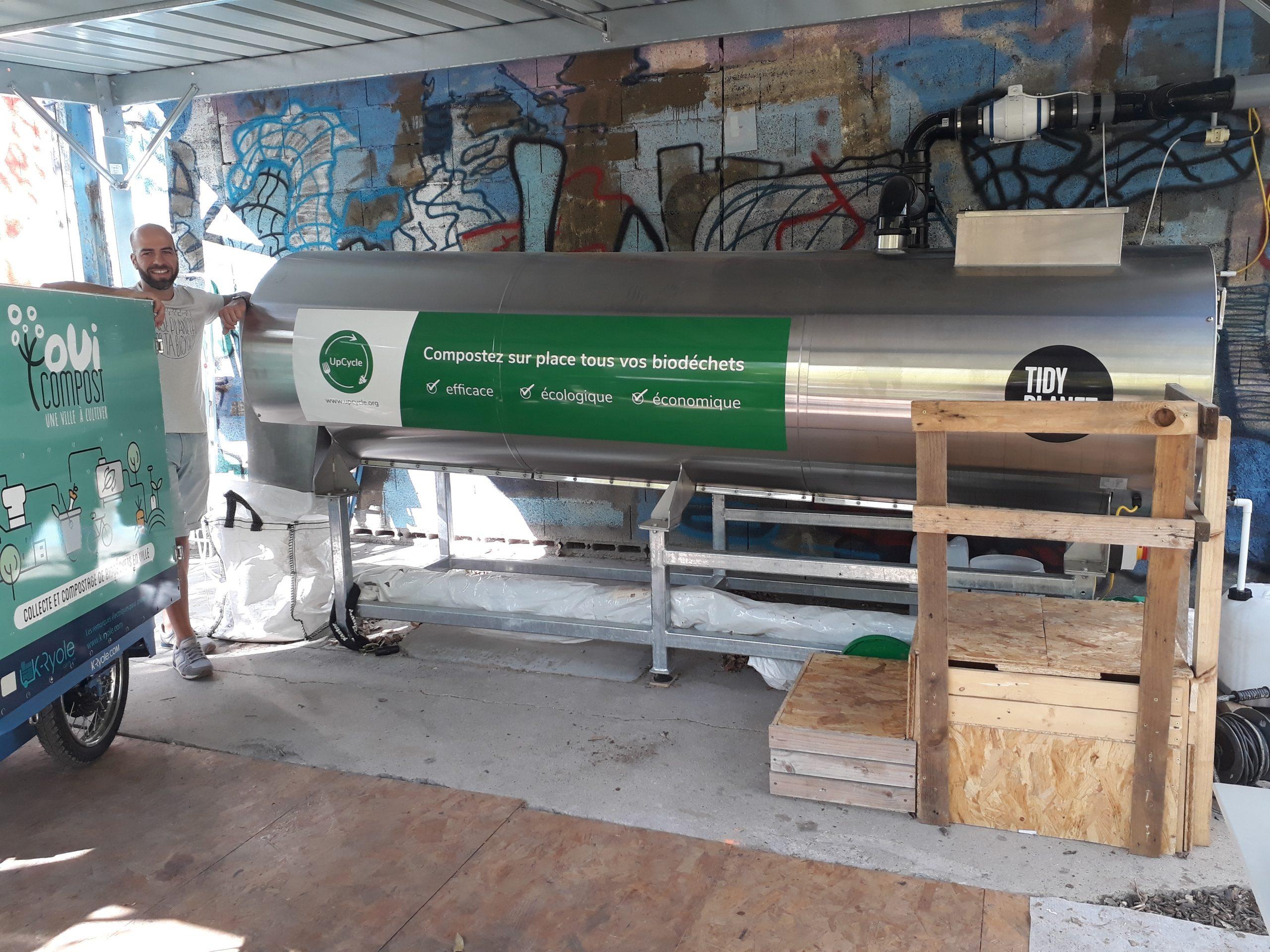 ouicompost & UpCycle valorisent les biodechets des restaurants lyonnais