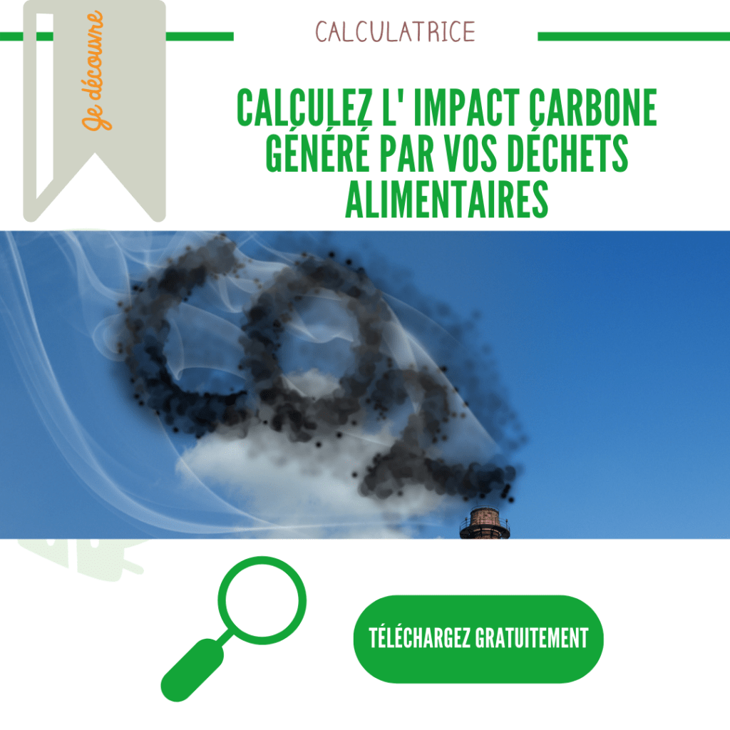 Emission GES dechets alimentaires | UpCycle a telecharger