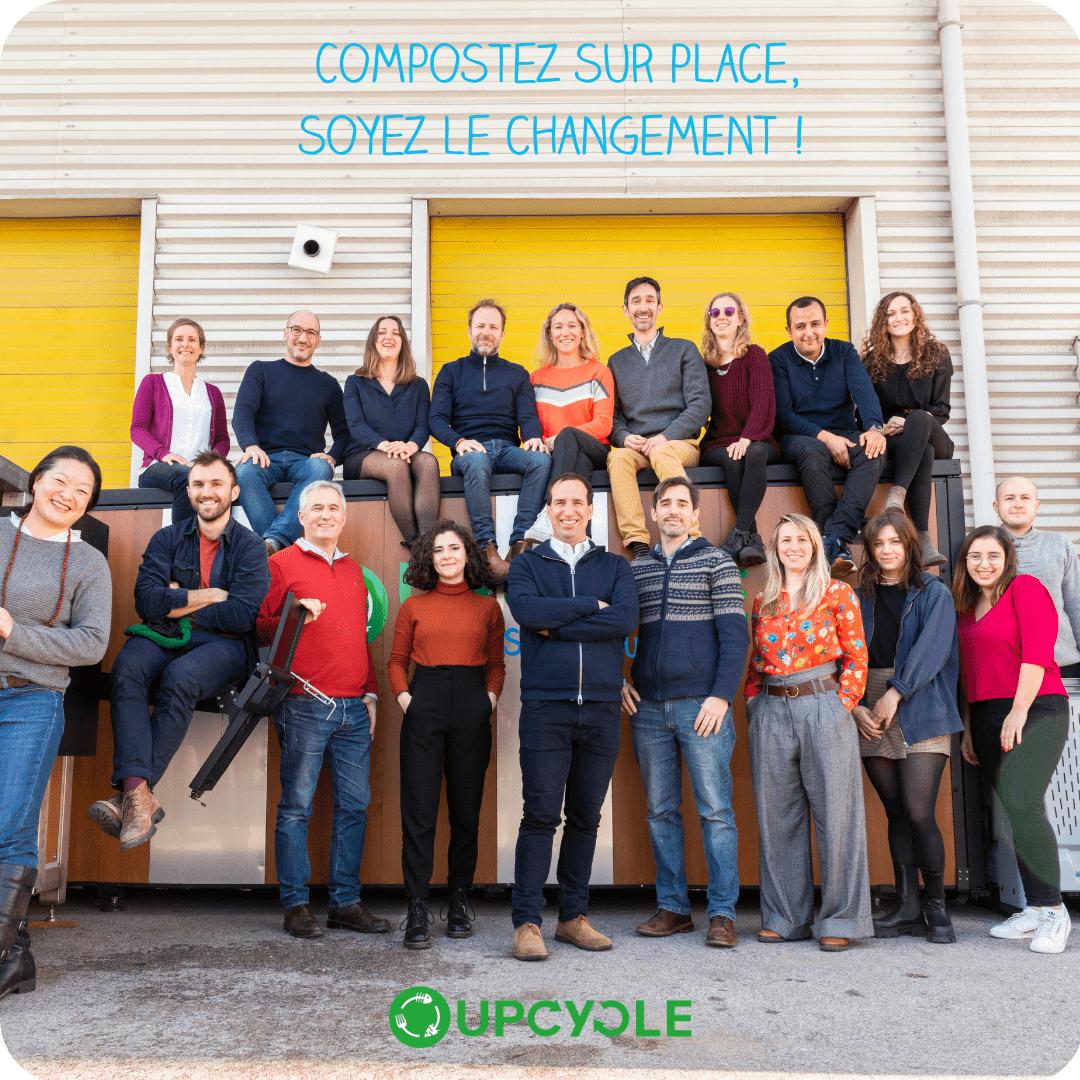 TEAM 2021 UpCycle Compostez sur place Soyez le changement