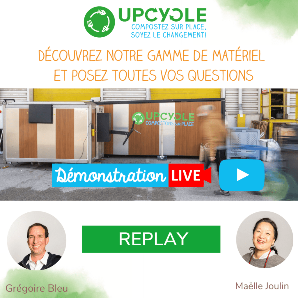 UpCycle demo live-replay