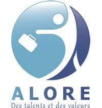 Alore logo X UPCYCLE valorisation biodechets