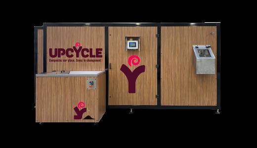 D160 composteur electromecanique upcycle