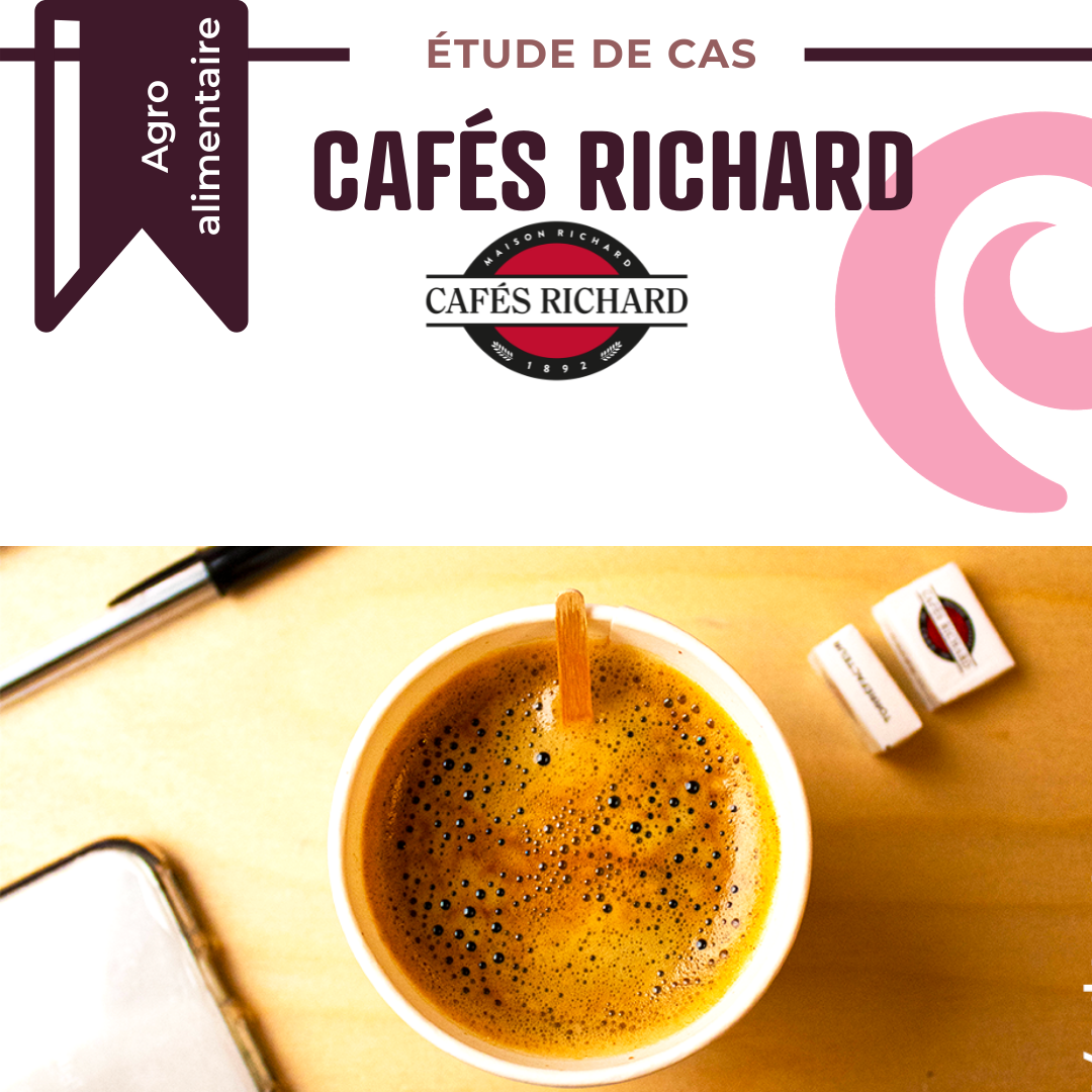 Cafés Richard | UPCYCLE emballages compostables compostes
