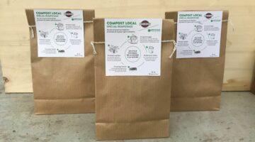 Sachets de compost Cafés Richard 1