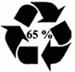 Anneau de moebius 65 pour cent