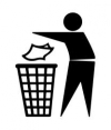 Logo Jette dans la poubelle