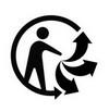 tri man : trier ne pas jeter a la poubelle