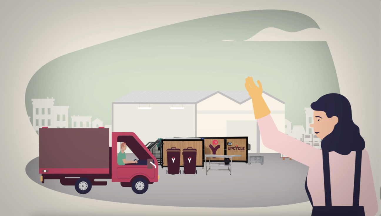VIDEO COMPOSTAGE ENTREPRISE INSERTION UPCYCLE
