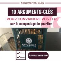 10 arguments clés compostage de quartier | UPCYCLE