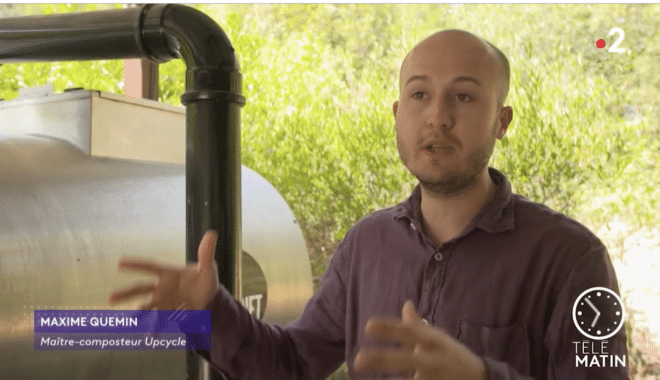 Reportage TELEMATIN - UPCYCLE- Quand le luxe se met au vert