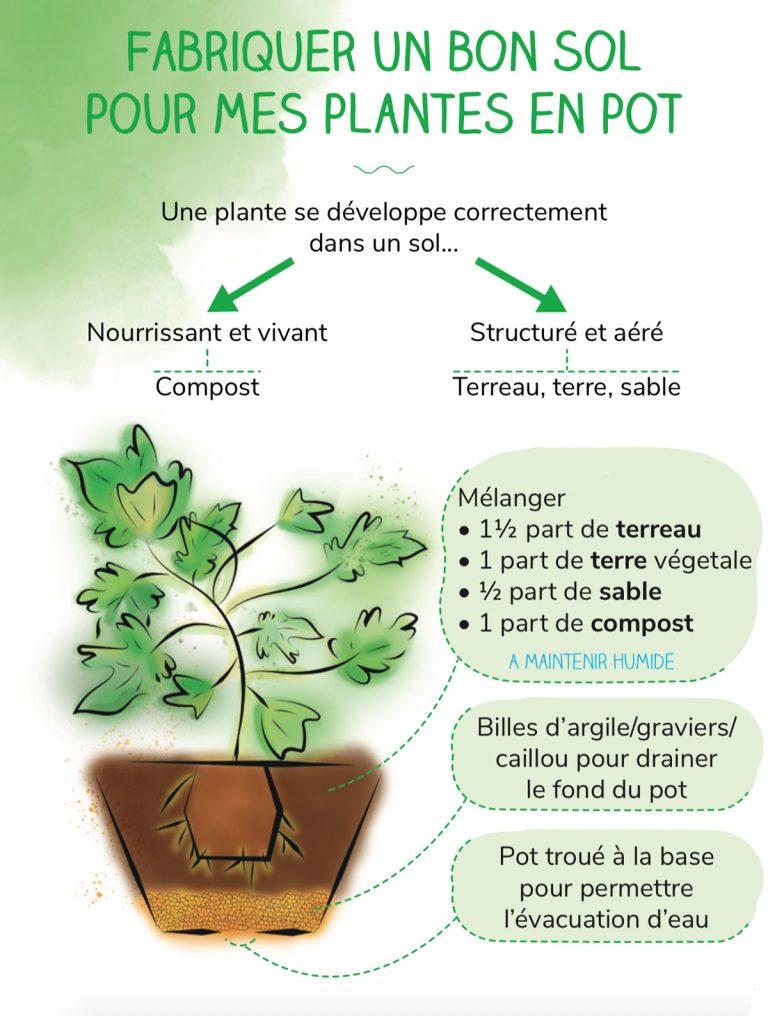 Fabriquer un bon sol pour mes plantes